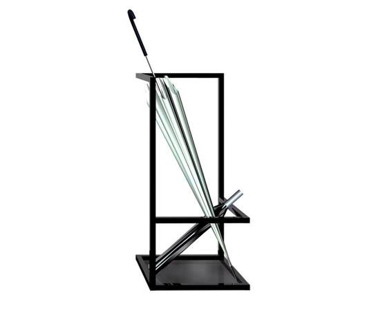 Adeco wiredress umbrella stand umbrella stands from for Stand parapluie