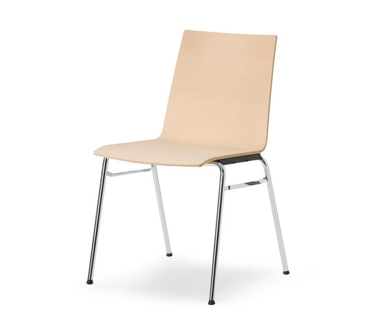 update stacking chair de Wiesner-Hager | Sillas multiusos