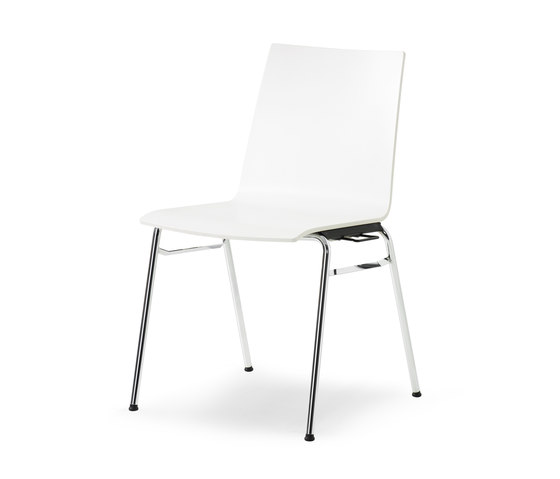 update stacking chair by Wiesner-Hager | Multipurpose chairs