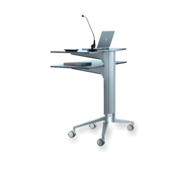 flex-table Media Trolley de Wiesner-Hager | Atriles