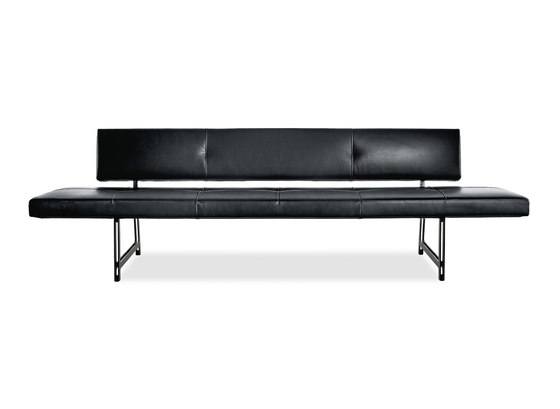 Foster 510 bench by Walter Knoll | Waiting area benches