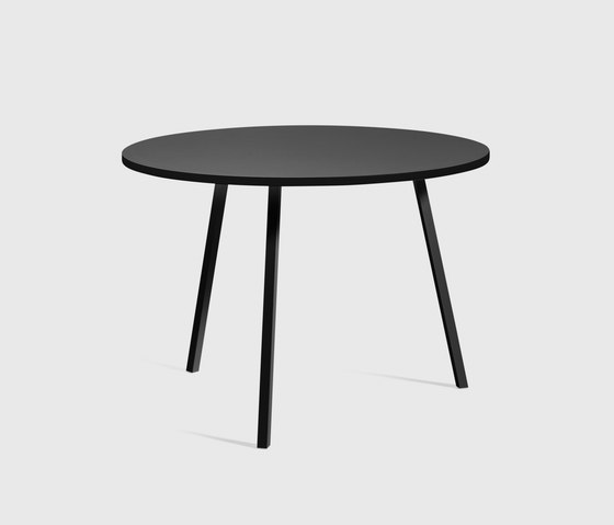 Loop Stand Round Table 105 by Hay | Restaurant tables
