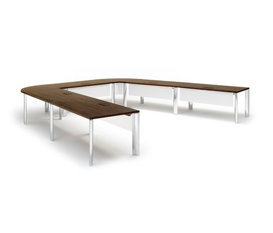 Cone conference table de Walter Knoll | Tables modulaires