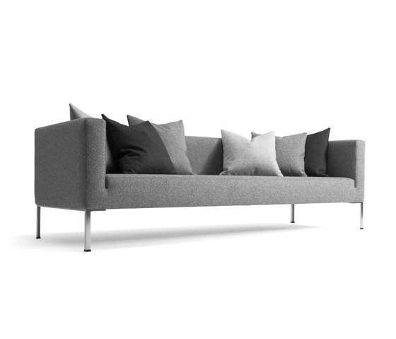 Globe Two Sofa by +Halle | Lounge sofas