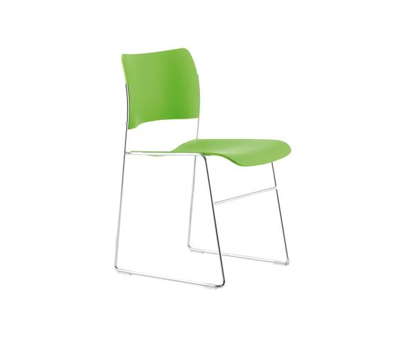 40/4 chair in plastic di HOWE | Sedie multiuso