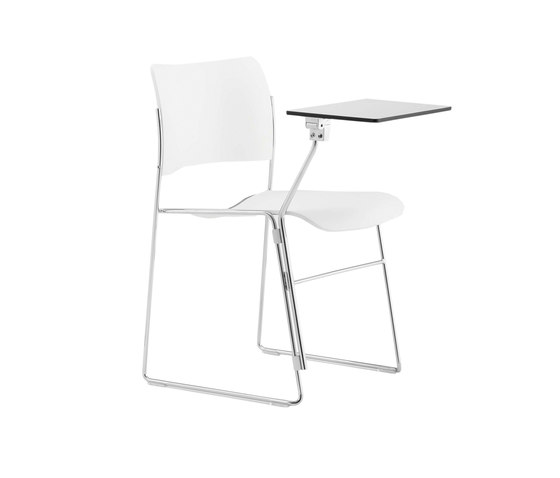 40/4 chair with writepad de HOWE | Sillas multiusos