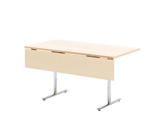 Tempest table with modesty panel by HOWE | Multipurpose tables