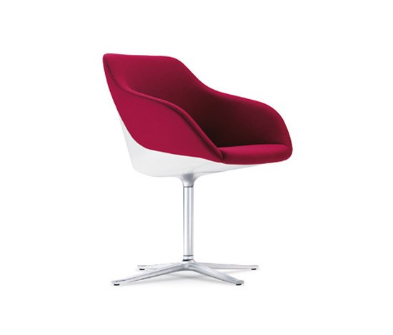 Turtle bucket seat by Walter Knoll | Visitors chairs / Side chairs