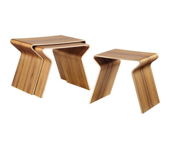 GJ Nesting Table de Lange Production | Mesas auxiliares