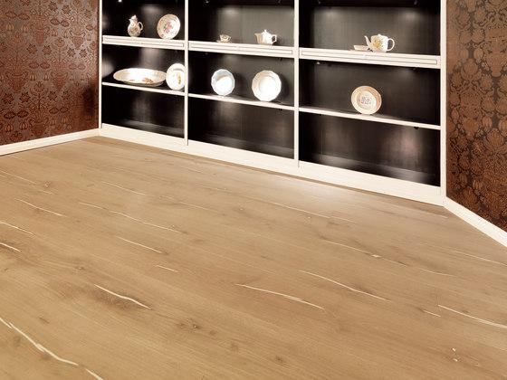 Coral OAK white brushed | white oil by mafi | Wood flooring