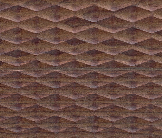mafi Fresco Vulcano Rombo. gefräst  |  weiß geölt von mafi | Holzböden