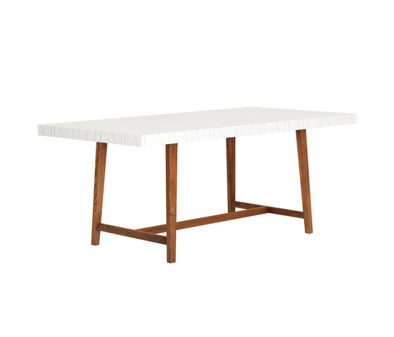 Vass VT90230 Dining Table by ASPLUND | Dining tables
