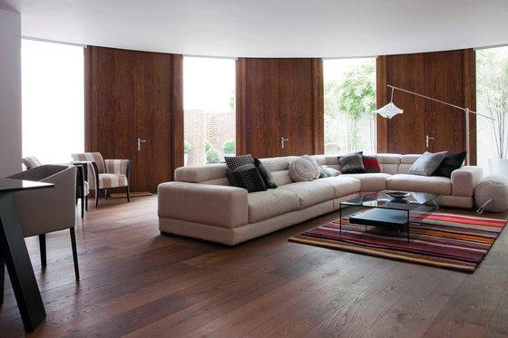 OAK Vulcano wide-plank brushed | natural oil by mafi | Wood flooring