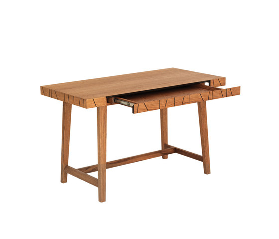 Vass VD60120 Desk with drawer di ASPLUND | Scrivanie
