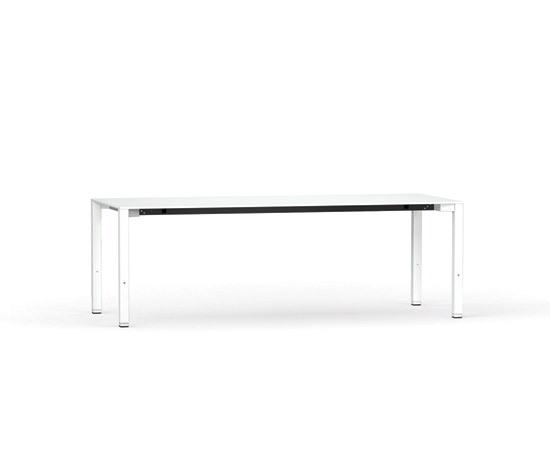 Fibre 4-feet table by Stilo | High desks