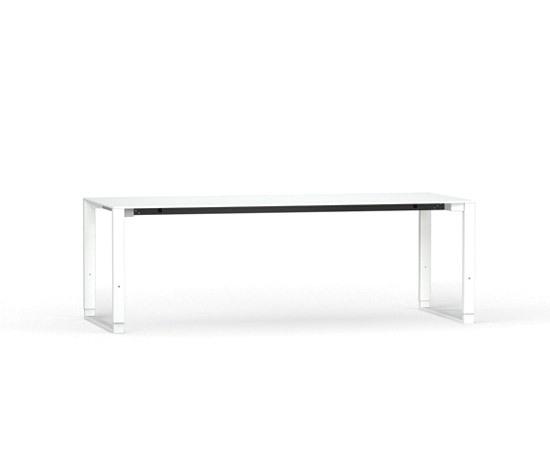 Fibre Sleigh-based-table by Stilo | Executive desks