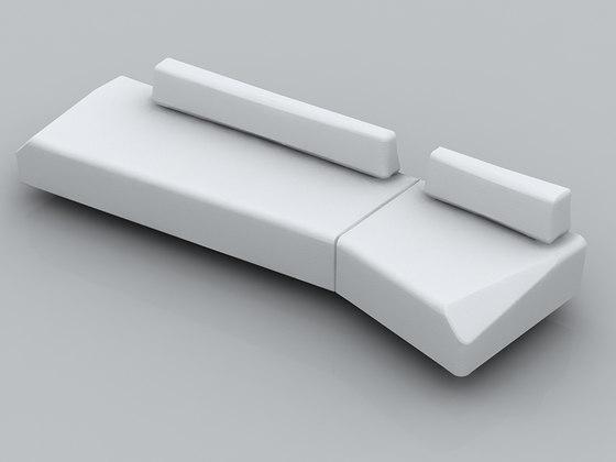 Stone Sofa de Nurus | Éléments de sièges modulables