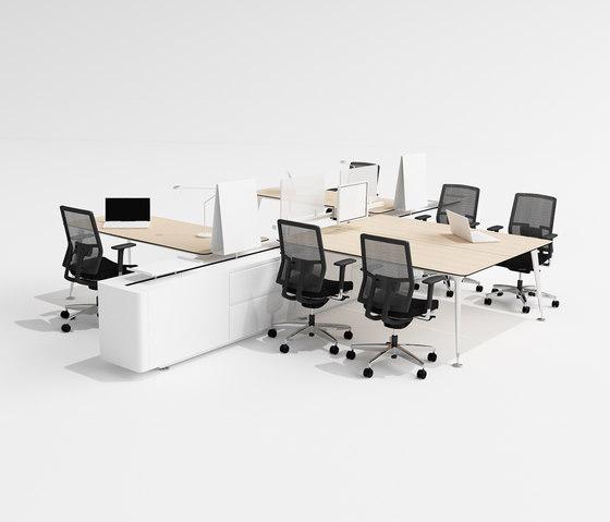 U too Quadro Desk by Nurus | Desking systems