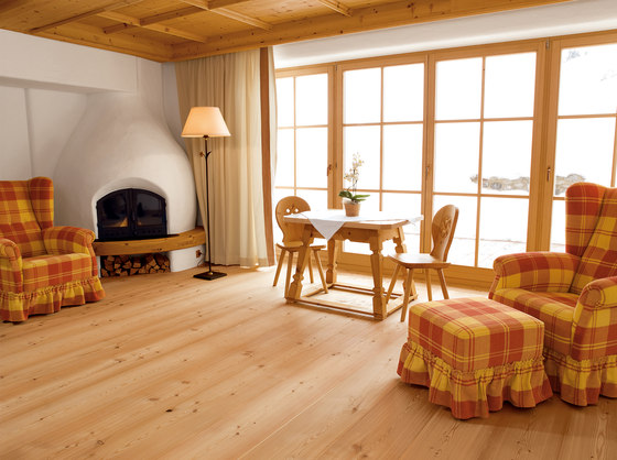 LARCH wide-plank brushed   natural oil by mafi   Wood flooring