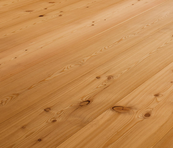 LARCH wide-plank brushed | natural oil by mafi | Wood flooring