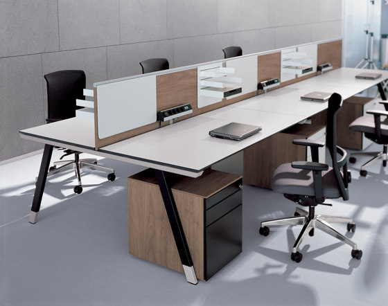 T-Workbench by Bene | Desking systems