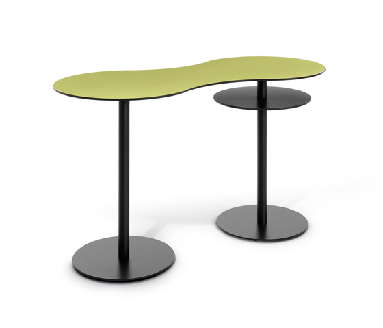 T meeting stand up table by bene product - Tables hautes bar ...