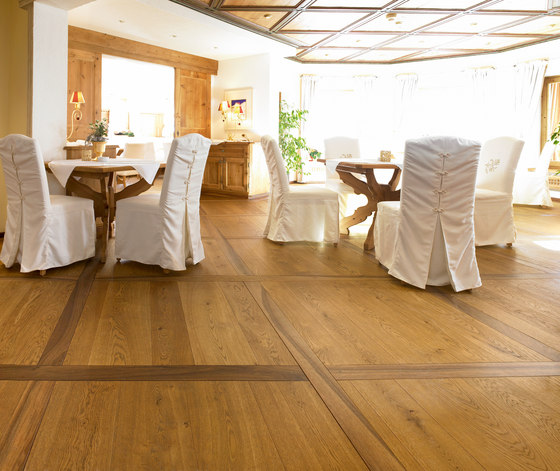 OAK Character wide-plank brushed | natural oil de mafi | Sols en bois