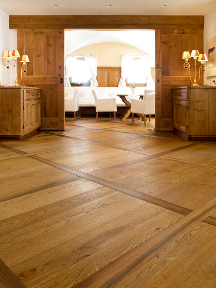 OAK Character wide-plank brushed | natural oil de mafi | Suelos de madera