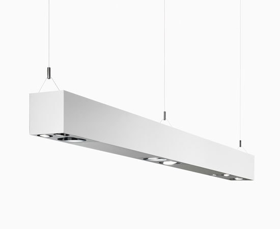 e01 square by Elementi di Luceplan | Pendant strip lights