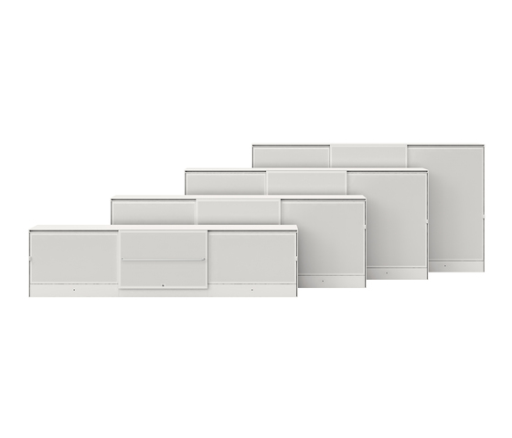 Ad Hoc Storage Wall by Vitra | Plan chests