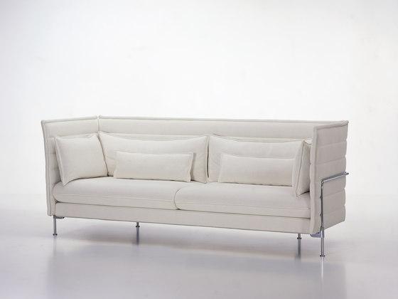 Alcove sofa de vitra alcove three seater alcove two for Canape alcove bouroullec