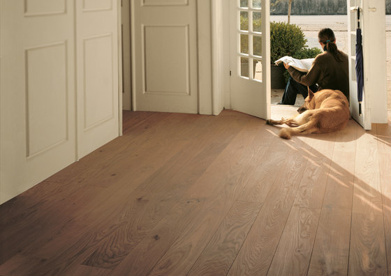 OAK Character brushed | white oil de mafi | Suelos de madera