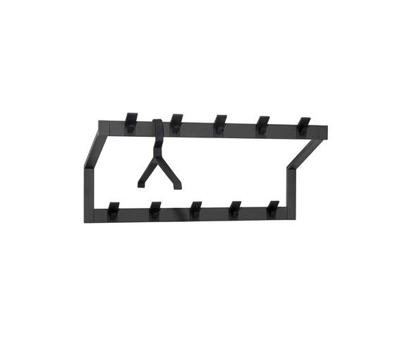 HOOK Wall coat rack by Schönbuch | Built-in wardrobes
