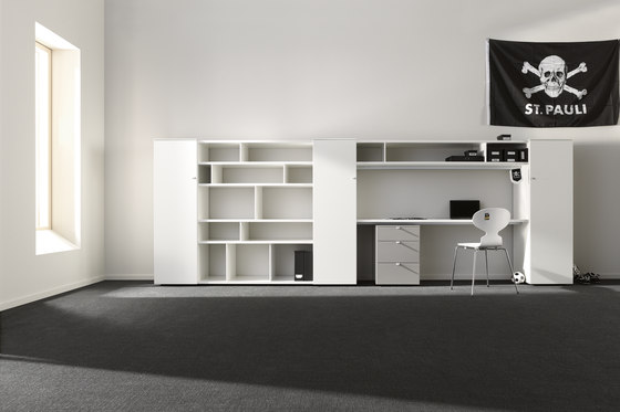 duo plus by interlübke | Shelving systems