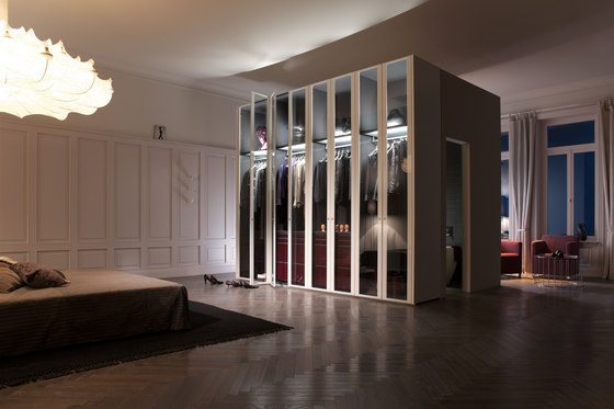 S 07 by interlübke | Walk-in wardrobes
