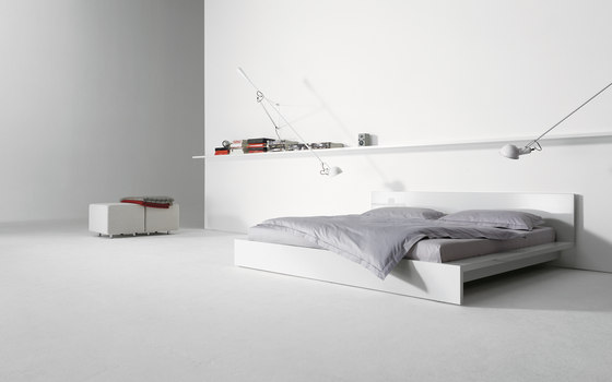 L bed by interlübke | Double beds