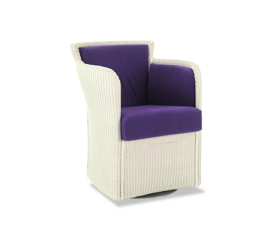 Gypsy Twist Swivel Armchair di Accente | Poltrone lounge