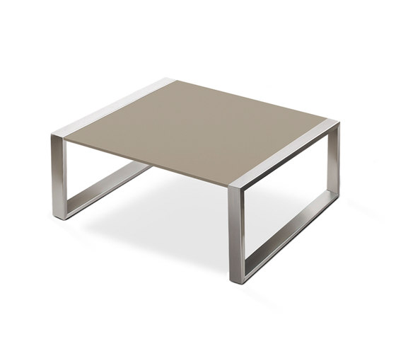 Cima Lounge Mesita 91 de FueraDentro | Tables basses de jardin