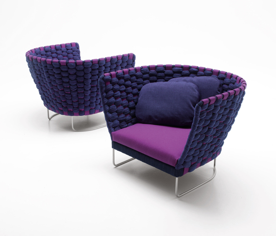 Ami by Paola Lenti | Lounge chairs