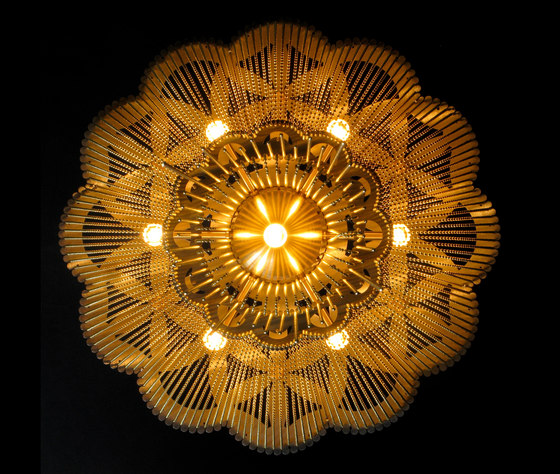 Flower of Life - 500 - ceiling mounted by Willowlamp | General lighting
