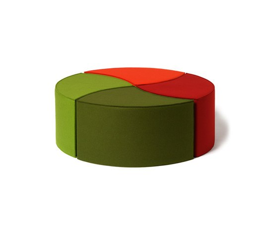 Seat cushion Posito by HEY-SIGN | Poufs