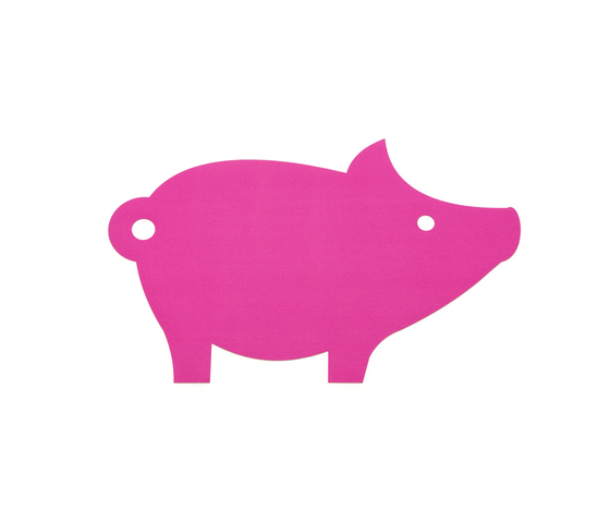 Rugs figurative, pig by HEY-SIGN | Rugs / Designer rugs