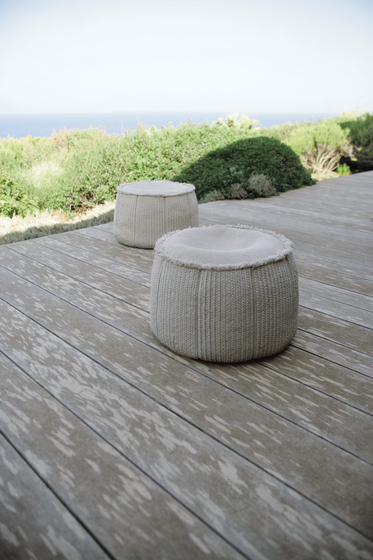 Play by Paola Lenti | Poufs