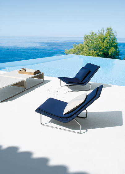 Sand by Paola Lenti | Garden armchairs