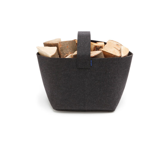 Firewood basket Standard by HEY-SIGN | Storage boxes