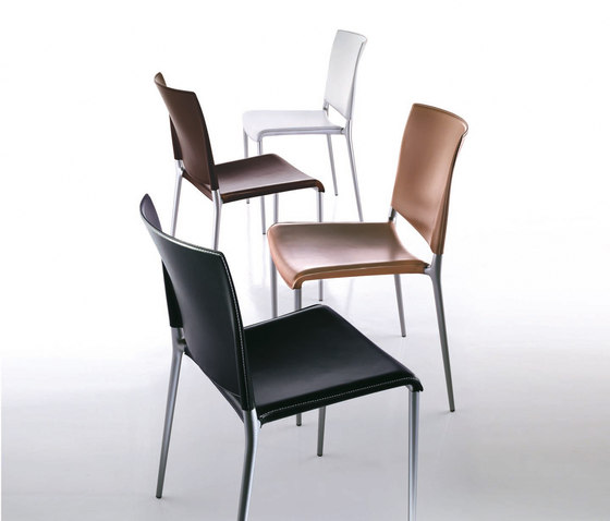 Alexa | 2520 leather by Rexite | Visitors chairs / Side chairs