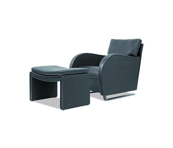 Twentyfive Swing Armchair di Accente | Poltrone lounge