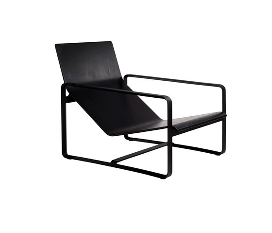 Neutra Easy chair by Tribù | Garden armchairs