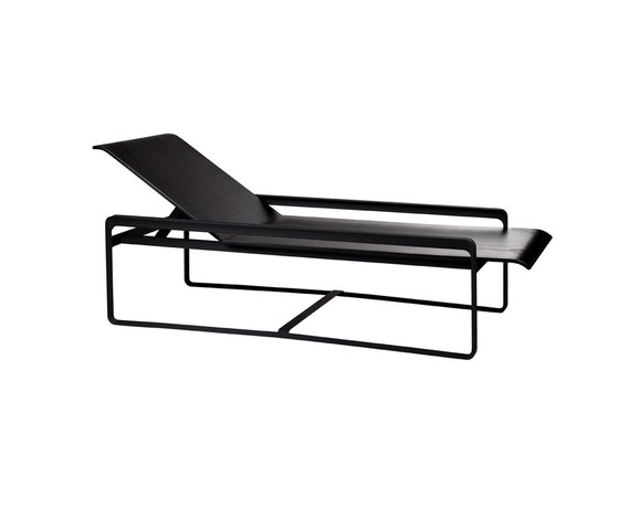 Neutra Adjustable Lounger de Tribu | Méridiennes de jardin