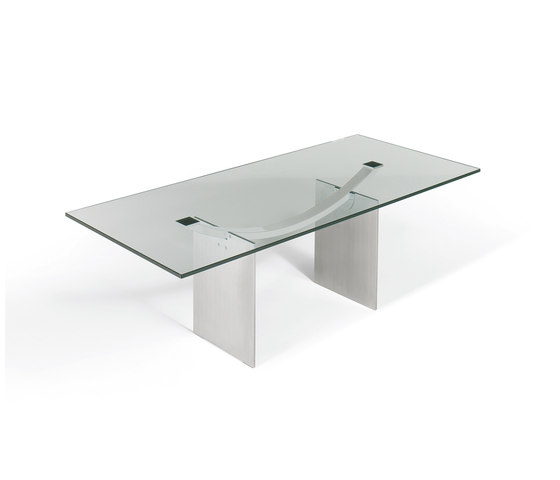 Atlas (Glas) | 1280 by Draenert | Dining tables